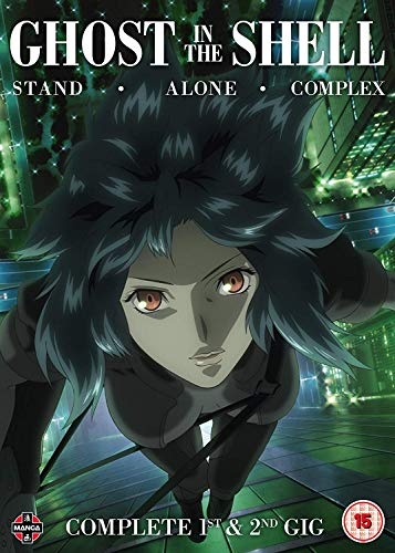 Ghost in the Shell: Stand Alone Complex Complete Series Collection - DVD [Reino Unido]