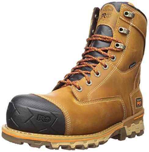 Timberland PRO Men's Boondock 8' Composite Toe Waterproof Insulated Industrial Boot, Brown, 10 M US
