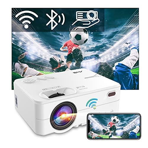 Videoprojecteur WiFi Bluetooth - Artlii Enjoy 2, Mini Projecteur...