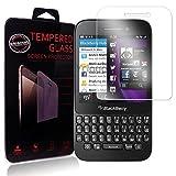 Ycloud Panzerglas Folie Schutzfolie Bildschirmschutzfolie für Blackberry Q5 screen protector mit Festigkeitgrad 9H, 0,26mm Ultra-Dünn, Abger&ete Kanten