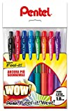 Pentel BX440 Feel-it! Wow! Sfera a scatto 1,0 mm 8 colori assortiti