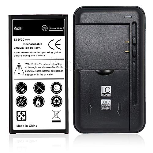 New Samsung Galaxy J7 Sky Pro Battery Kit [1Battery+1Charger] 1x 3700mAh Spare Li-ion Extended Battery Combo with 1x USB Universal Spare USB/AC Battery Charger for Samsung Galaxy J7 Sky Pro S727VL