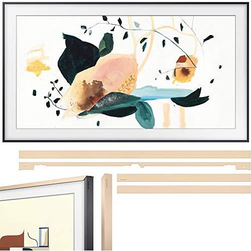 Samsung QN65LS03TA The Frame 3.0 65-inch QLED Smart 4K UHD TV (2020 Model) Bundle with Samsung VG-SCFT65BE/ZA (2020) 65-inch The Frame Customizable Bezel - Beige