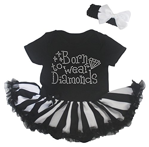 Petitebelle - Body - Robe - Bébé (fille) 0 à 24 mois noir noir 0-3 mois - noir - taille unique