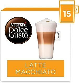 Nescafé Dolce Gusto capsules Latte Macchiato - voordeelverpakking - 90 koffiecups - geschikt voor 45 koppen koffie - Dolce...