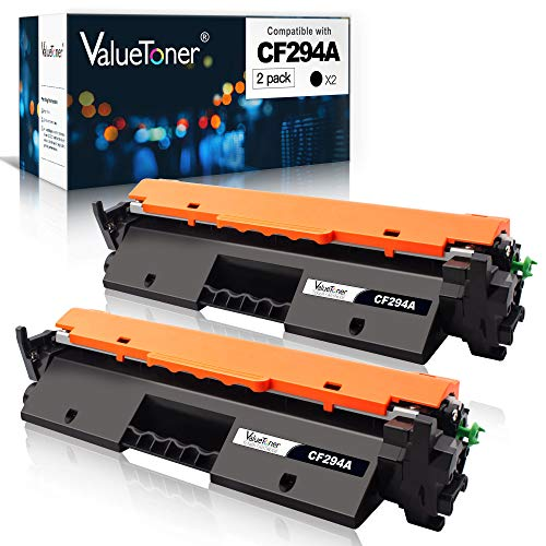 Valuetoner Compatible Toner Cartridge Replacement for HP 94A CF294A to use with Laserjet Pro MFP M148dw, M148fdw, M118dw, M149fdw, Laserjet M148, M118, M149(Black, 2 Pack)