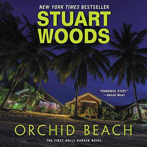Orchid Beach audiobook cover art