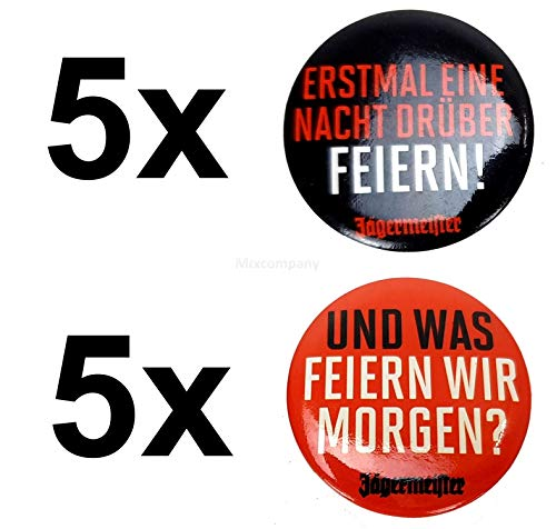 Jägermeister button aansteker speld - 5X