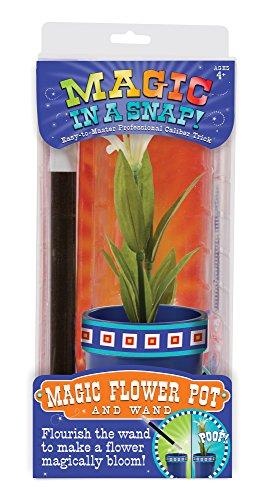Melissa & Doug Magic in a Snap Magic Flower Pot & Wand, Multicolor