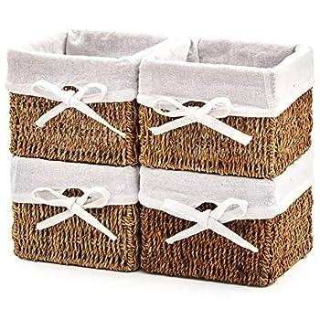 Best wicker basket storage shelves Reviews