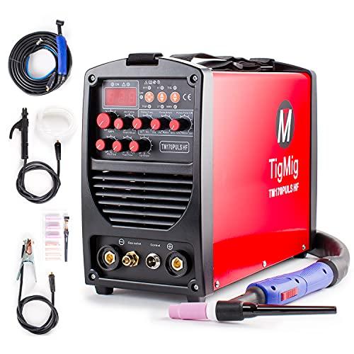TIGMIG Soldador Inverter TIG TM 170 P HF...
