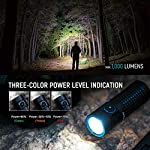 Olight S1R Baton II LED Flashlight Max 1000lm Compact Rechargeable EDC Torch Light Single IMR16340 Powered Torch for… 6