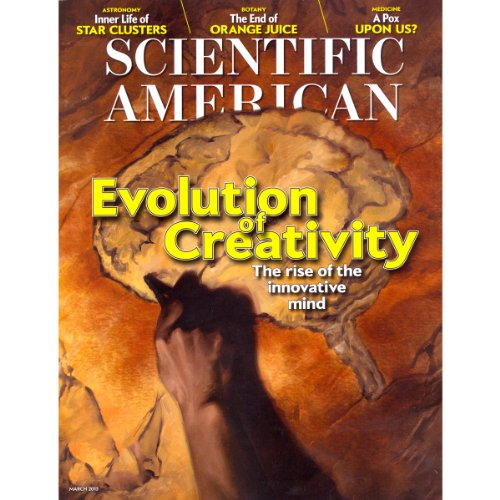 Scientific American, March 2013 cover art