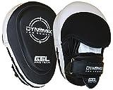 Dynamix Athletics Gel Handpratzen Pro Combat - Leder - Boxen Muay Thai Kickboxen Pratzen Pads Schlagpolster Boxpratzen Boxen Pads -