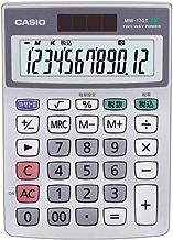 カシオ 電卓 ミニジャスト型 MW-12GT-N×3