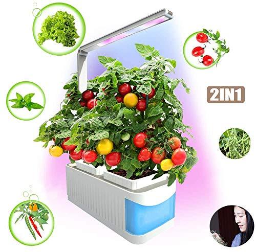 ZHANGRONG Intelligente Hydroponik,Smart Hydroponic Garden Light Multifunktionale Intelligente Pflanzenwachstumslampe LED Volles Spektrum LED Pflanzenleuchte
