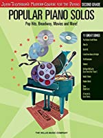 Popular Piano Solos - Second Grade: Pop Hits, Broadway, Movies And More!