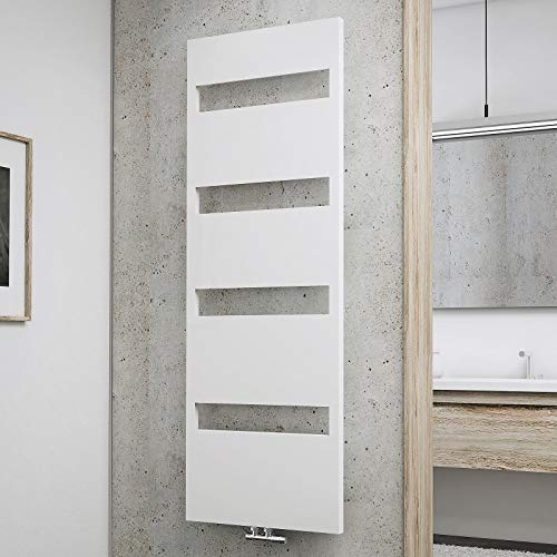 Schulte H170060 04 Turin Badheizkörper, alpinweiß, 170 x 60 cm