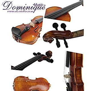 """D Z Strad Viola Model 120 with Strings, Case, Bow, Shouler Rest and Rosin (14"""") (B07J1XPNXJ) 
