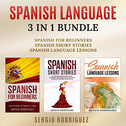 Spanish Language: 3 in 1 Bundle audiobook cover art