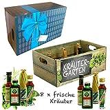 Creofant Kräutergarten · Witzige Geschenkidee für Männer und Frauen mit Alkohol · 8 x...