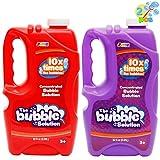 JOYIN 2 Pcs Bubble Solution Refill 32 Ounce (0.95L) for Bubble Machine, Bubble Gun, Party Favor, Bubble Summer Toy, Easter
