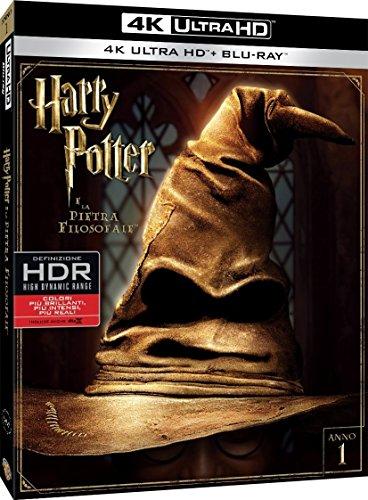 Harry Potter E La Pietra Filosofale (4K Ultra Hd+Blu-Ray) [Italia] [Blu-ray]