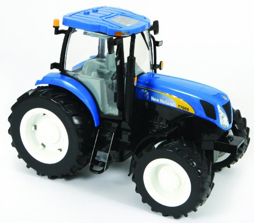 Tomy Big Farm - 42423 - Véhicule Miniature - Tracteur New Holland T7060