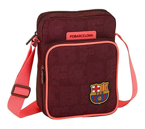 Safta Bandolera F.C. Barcelona 3ª Equip 17/18 Oficial Con Bolsillo Exterior 160x60x220mm
