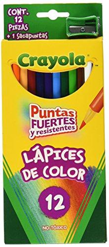 colores marca crayola 12 fabricante CRAYOLA