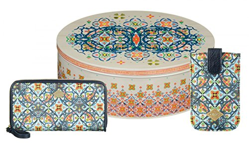 Oilily Painted Tiles S Gift Set Ensign Blue