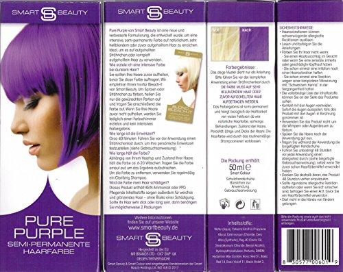 Smart Beauty Pure Purple Semi-Permanente Haarfarbe 50 ml