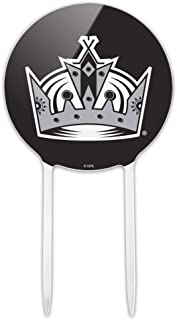 GRAPHICS & MORE Acrylic NHL Los Angeles Kings Logo Cake Topper Party Decoration for Wedding Anniversary Birthday Graduation