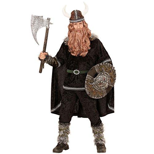 NET TOYS Wikingerkostüm Ragnar Barbaren Kostüm L (52) Mittelalter Herrenkostüm Mittelalterkostüm Normanne