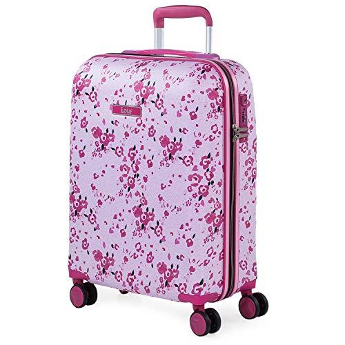Lois - Maleta de Viaje pequeña Cabina Infantil 4 Ruedas Trolley abs...