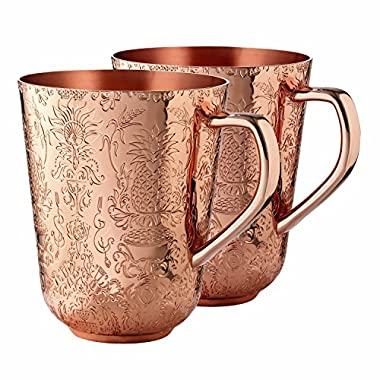 Copper Mule Cups Gift Set (set of 2) by Elyx Boutique