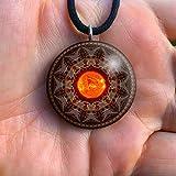 Orgone Pendant | Orgonite Necklace | EMF Protection | Tesla | EMF blocker | Orgone Necklace | Sun Seed