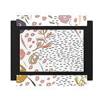 抽象芸術の植物パターン デスクトップフォトフレーム画像ブラックは、芸術絵画7 x 9インチ