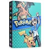 Álbum de Pokemon, Álbum Titular de Tarjetas Pokémon Pokemon Cards GX EX Album Pokemon Cards Album Book, Album Pokemon Puede acomodar 120 Tarjetas Individuales o 240 Tarjetas Dobles (Ash Ketchum)