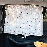 Cortinas Parasoles de coche para niños,parabrisas de coche para niños,bebés,mascotas,rayos UV / protección solar,parasol de coche,visera protectora para niños con ventosa para ventana de parabrisas