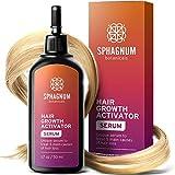 Siero crescita capelli - Tratta 5 importanti cause della perdita dei capelli. Purifica e nutre le radici, attiva i capillari, protegge dal DHT. Stimola la ricrescita capelli sia per uomini che donne