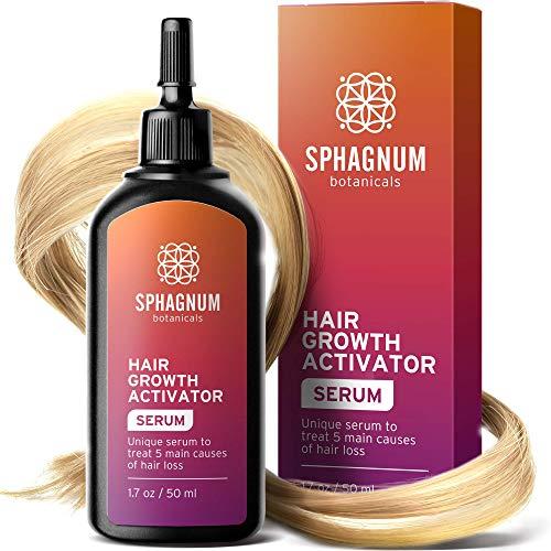 Haarwachstum Serum - Der Follikel-Aktivator behandelt die 5 Hauptursachen für Haarausfall. Reinigt und nährt die Wurzeln. Kraftvoller Kick-Start für neues Haarwuchs.