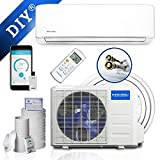 MRCOOL DIY 36,000 BTU Ductless Mini Split Air Conditioner and Heat Pump System with Wireless-Enabled Smart...