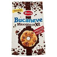 doria bucaneve biscotti frollini con maxi gocce di cioccolato, 300g