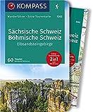 KV WF 5262 Sächsische Schweiz, Elbsandsteingebirge (m. Karte): Wanderführer mit Extra-Tourenkarte, 60 Touren, GPX-Daten zum Download (KOMPASS-Wanderführer, Band 5262)