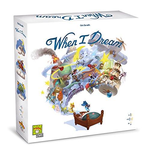 Asmodee - When I Dream 8415 Jeu de Table, Multicolore