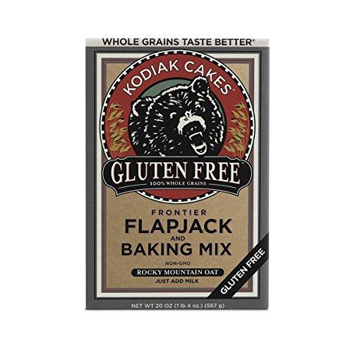 Kodiak Cakes Gluten Free Pancake and Waffle Baking Mix, Rocky Mountain Oat, 20 Ounce