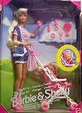 1995 Barbie - Strollin' Fun Barbie & Kelly - Barbie pousse sa petite soeur en poussette - #13742