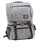 CampFeuer Rucksack mit Kühlfach| grau | 20 Liter Isoliertasche für BBQ, Camping, Strand und...