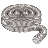 4' x 20' CLEAR PVC DUST COLLECTION HOSE BY PEACHTREE WOODWORKING PW376